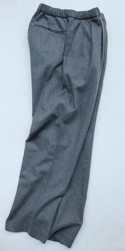 CEASTERS 2Pleats Easy Trousers GREY  by Burel (8)