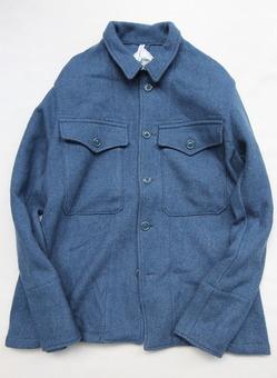 NOUN 0511 Wool Jacket BLUE GREY