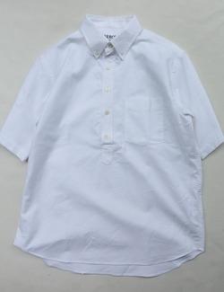 SERO Mens BD Pullover SS WHITE (2)