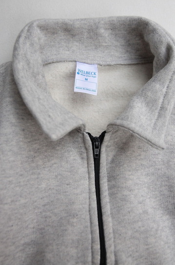 WELBECK W18 Quarter Zip Sweat Top TOP GREY (3)
