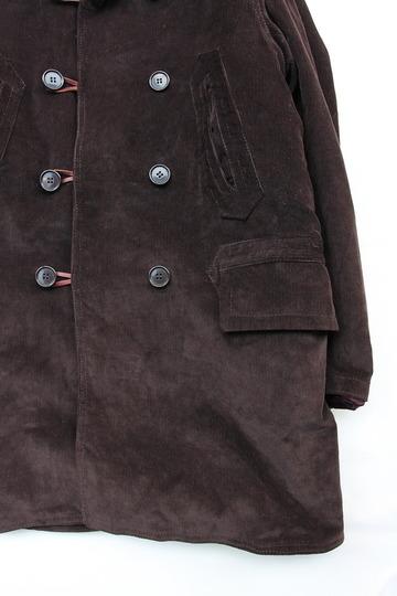 Npenthes Lonodn Corduroy Coat D BROWN (3)