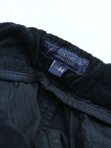 RM Loose Pants DARWIN BLACK (2)