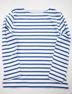TENJIKUYA LS Border Tshirts Off X Blu (2)