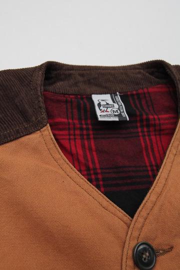 Chums Hurricane Work Vest CAMEL (7)