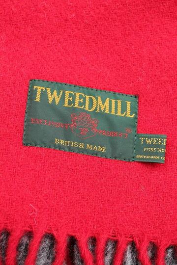 Tweed Mill Knee Rug RED & SLATE (2)