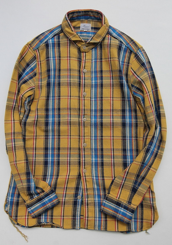 Harriss 55012 Heavy Twill Plaid YELLOW