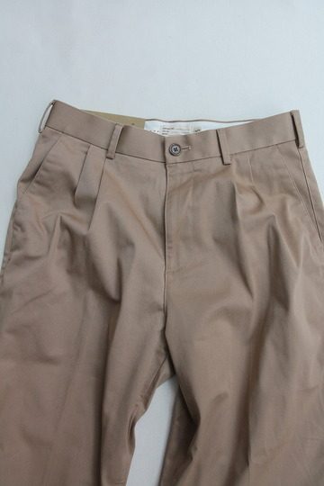 KIFFE Officer Wide Trousers BEIGE (2)