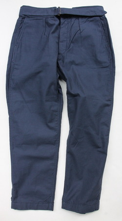 ARAN Belt Pants NAVY (5)