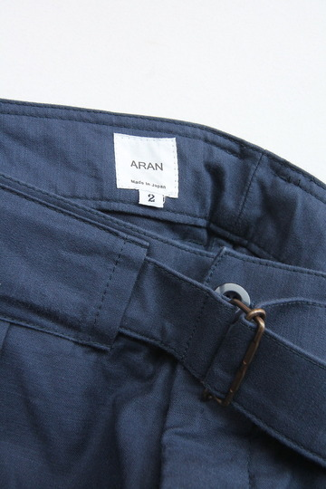 ARAN Belt Pants NAVY (2)
