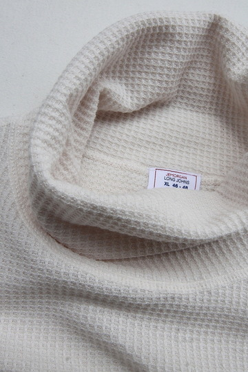 JE MORGAN Thermal Turtle Neck NATURAL (2)