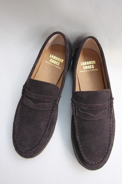 LABORRER SHOES Mudgard Loafer BROWN