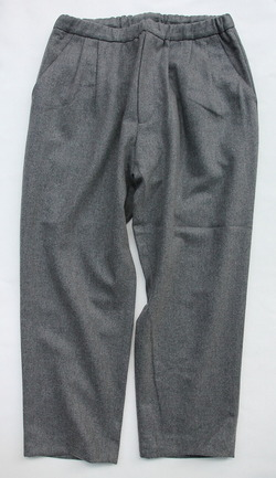 CESTERS Wool 2 P Easy Pants M GREY (5)