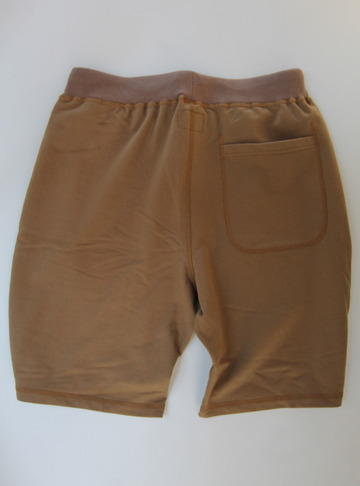 Felco Gym Shorts Mini French Terry TAN (2)