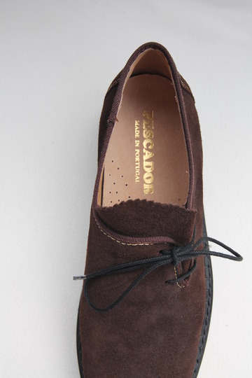 PESCADOR Tirorian Suede BROWN (7)