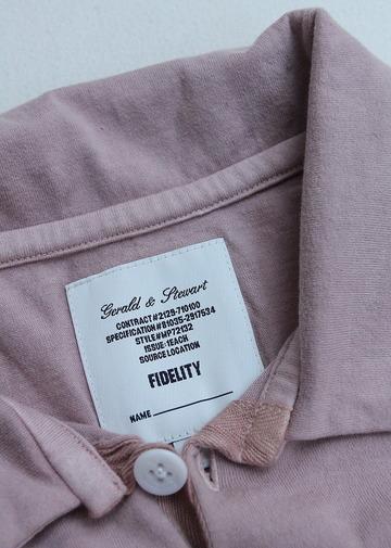 FIDELITY Half Sleeve Skipper Tee PINK (4)