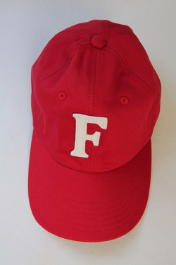 Felco Twill BB Cap RED F NATURAL