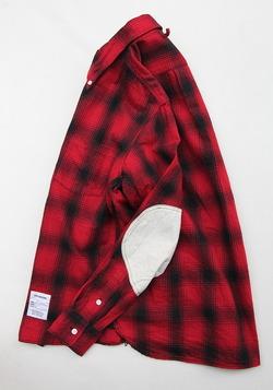 Your Uniform 3 Needles Ombre Check BD Shirt Elbow Patch (2)
