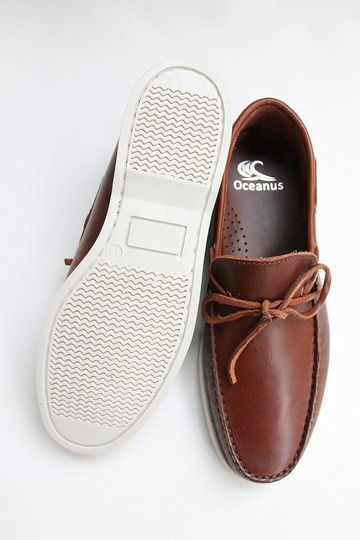 OCEANUS Leather Washed Shoes CAGNAK (6)