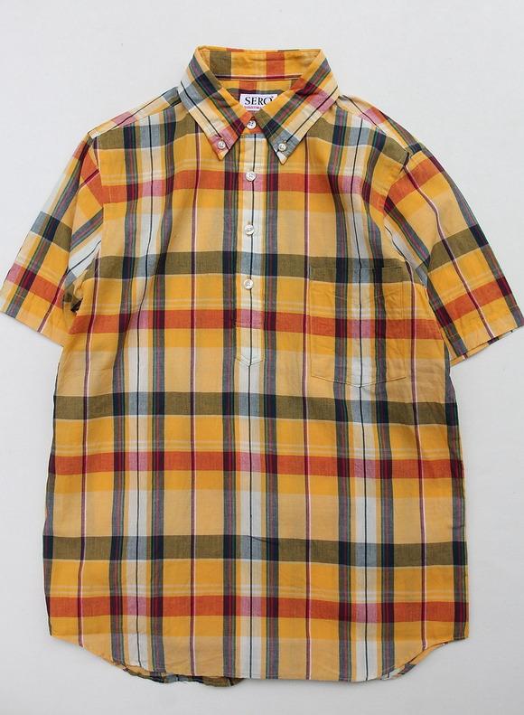 SERO PO Button Down Shirt SS ORANGE