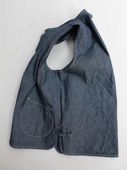 ARAN Vest Chambray (4)