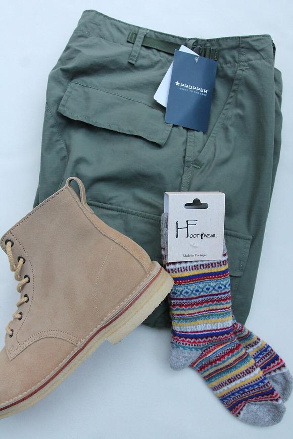 H Footwear Fair Isle GREY