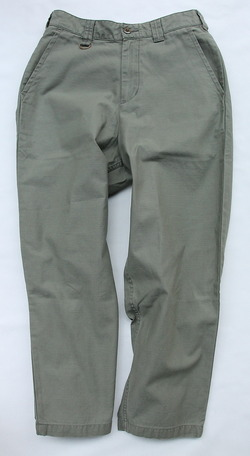 Le Ciel de Harriss Back Satin Loose Fit Pants OLIVE (7)