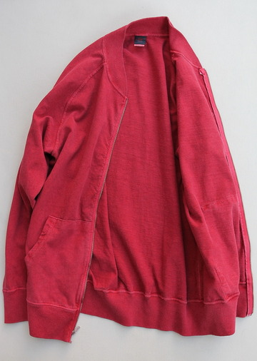 Goodon Zip Tee Jkt P F RED (6)