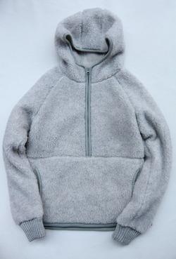 COLDBREAKER Hood Jacket LIGHT GREY