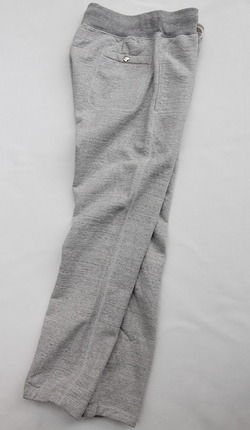 Felco Gym Pants Heavy Weight Terry HEATHER GREY (2)