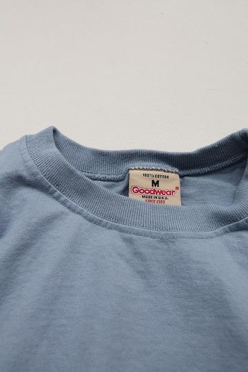 Goodwear Rib Tee SS STEEL BLUE (3)