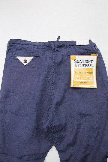 Sunlight Believer Irish Linen Relax Pants NAVY (6)