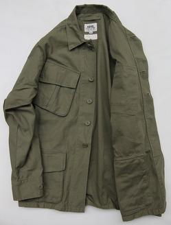 KIFFE Jangle Fatigue Jacket OLIVE (2)