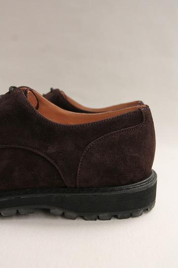 Crown Northampton Apron Shoes DK BROWN (7)