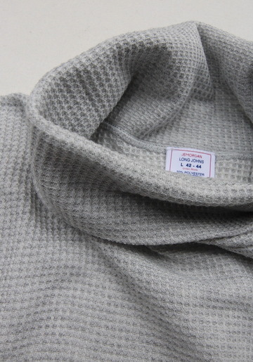 JE MORGAN Thermal Turtle Neck MOKU GREY (3)