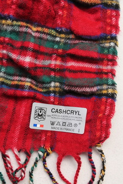 "Cashcryl ""Plaid ROYAL STEWART (3)"