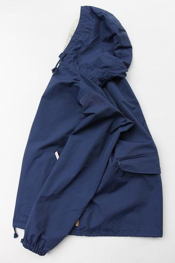 Sunlight Believer Packable Nylon Hooded Parka NAVY BLUE (6)