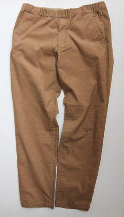 Harriss Stretch Corduroy Easy Pants TAN