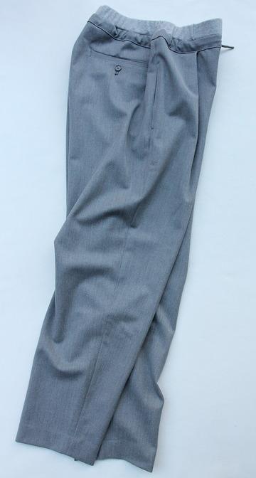 Le Ciel de Harriss T Rayon Tuck Easy Pants GREY (6)