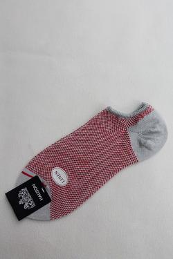 HALISON Linen Mesh Ankle Socks LIGHT GREY (2)