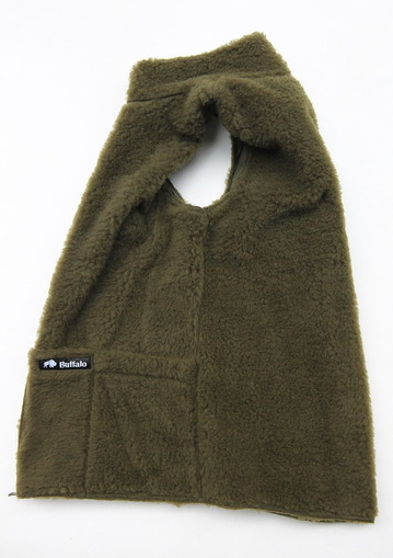 Buffalo Reversible Belay Vest OLIVE OLIVE (9)