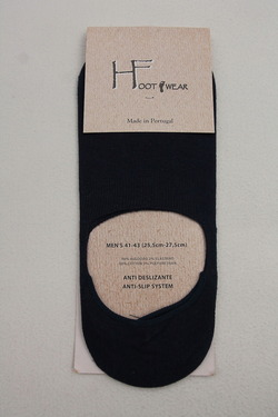 H Footwear Cover Socks Anti Slip System NAVY (2)