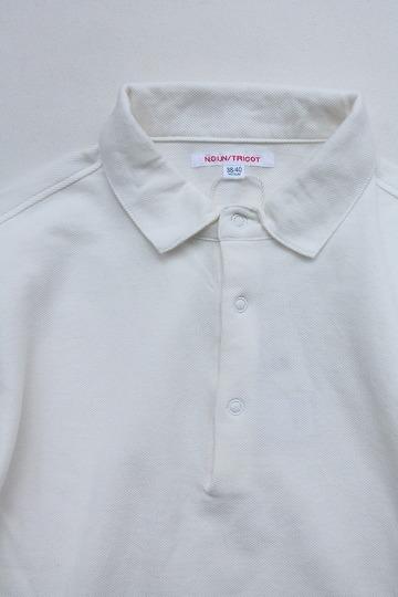 NOUN LS Polo WHITE (2)