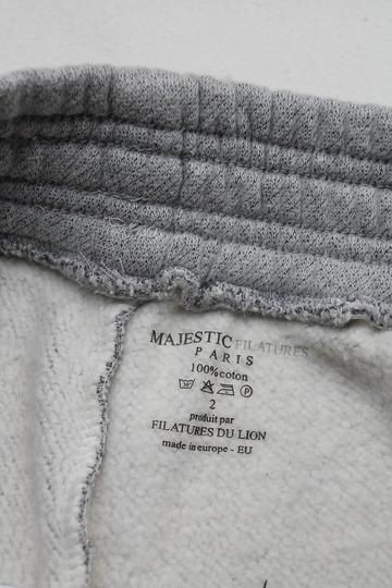 Majestic L Pocket SW Pants GRIS CHINE (5)