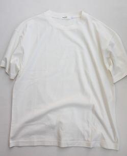 RICEMAN Plain Tee Shirt OFF WHITE
