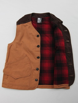 Chums Hurricane Work Vest CAMEL (4)