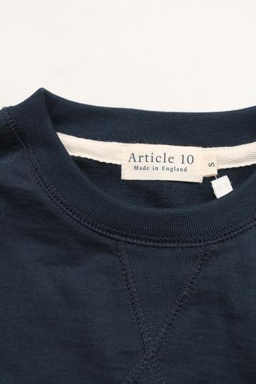 Arcticle 10 Spima Cotton Sweat Shirt NAVY (2)