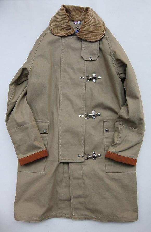 MCA Fireman Coat BEIGE