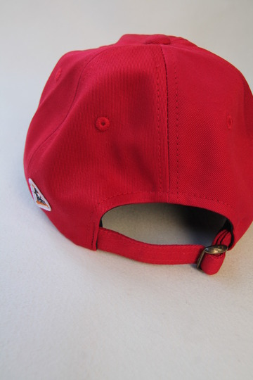 Felco Twill BB Cap RED F NATURAL (5)