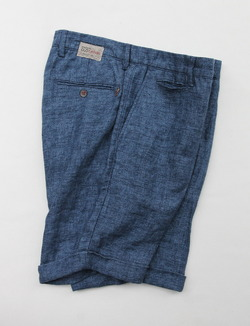 Maison Clocherd Mallard Shorts NAVY (4)