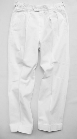 KIFFE Belt Less Pants WHITE (5)